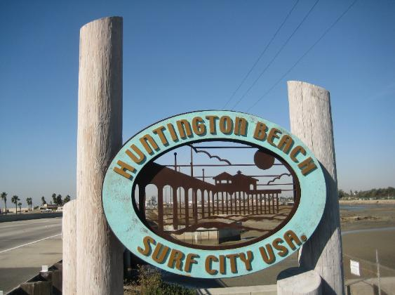 Huntington Beach Ca Surf City Usa December 2008 Photo Cd